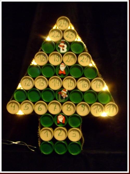 Weihnachtskalender Tannenbaum.Adventskalender